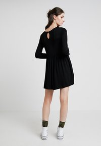 New Look - PLAIN SMOCK - Jersey dress - black - 2