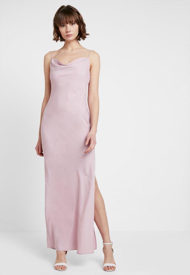 BRIDESMAID MAXI COWL DRESS - Cocktail dress / Party dress - lilac