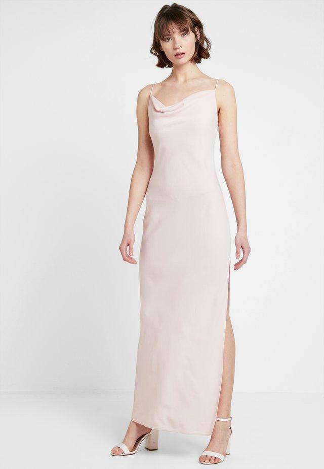 BRIDESMAID MAXI COWL DRESS - Cocktail dress / Party dress - nude