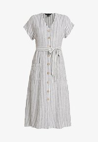 New Look - STRIPE MARGE MIDI - Maxikleid - cream - 4