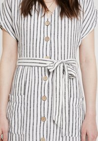 New Look - STRIPE MARGE MIDI - Maxikleid - cream - 5