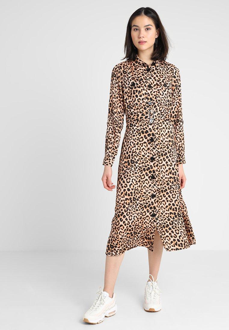 New Look - MIDI - Shirt dress - brown