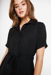 New Look - DRAWSTRING WAIST DRESS - Blousejurk - black - 4