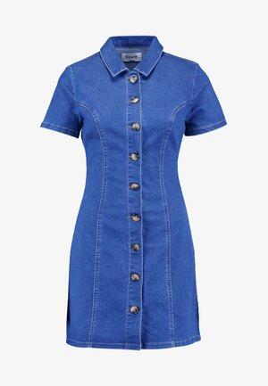 RIRI BODYCON DRESS - Jeansklänning - blue