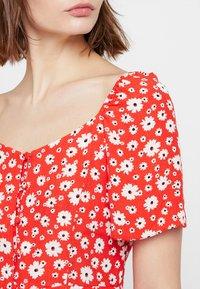 New Look - Shirt dress - red - 4