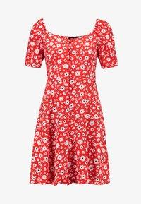 New Look - Shirt dress - red - 3