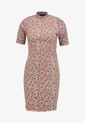 ARYA DITSY MINI - Shift dress - pink pattern
