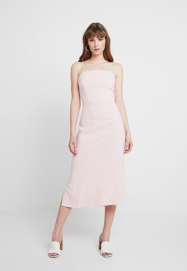 BERMUDA TIE BACK MIDI  - Day dress - light pink