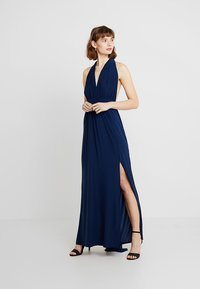 New Look - BRIDAL GO MULTIWAY GATHERED - Maxikleid - navy - 2