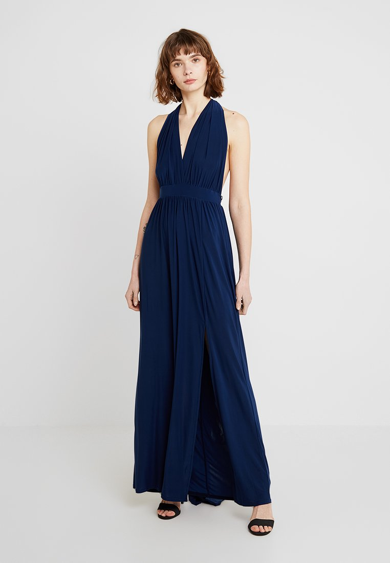New Look - BRIDAL GO MULTIWAY GATHERED - Maxikleid - navy
