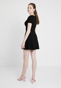 New Look - SKATER - Vestito di maglina - black - 2