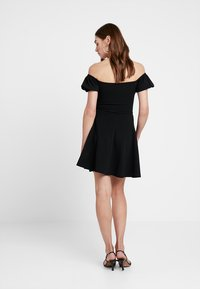 New Look - GO RUCHED FRONT MILKMAID - Robe en jersey - black - 3