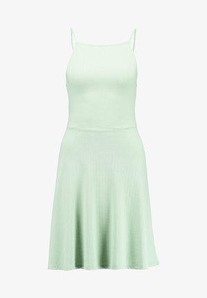 WAFFLE HIGH SKATER  - Trikoomekko - light green