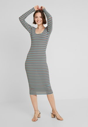 STRIPE MIDI - Maxi dress - multi-coloured