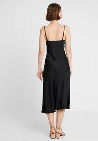 New Look - BLISS SLIP DRESS - Maxi dress - black - 3