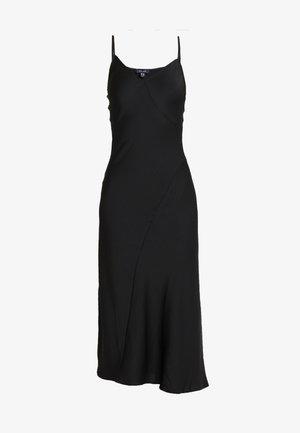 BLISS SLIP DRESS - Maxi-jurk - black