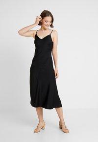 New Look - BLISS SLIP DRESS - Maxi dress - black - 2