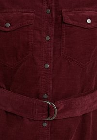 New Look - BELTED DRESS - Vestido informal - burgundy - 5