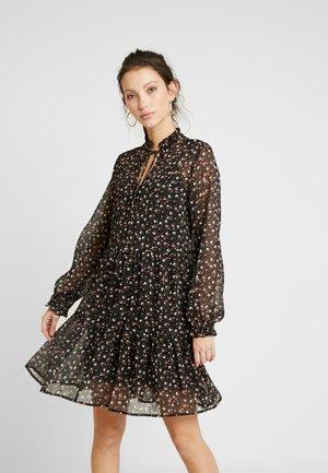 MEG DITSY CRINKLE YORYU - Day dress - black