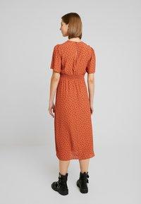 New Look - CAROL SPOT SPLIT - Day dress - brown pattern - 3