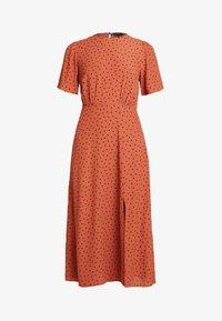 New Look - CAROL SPOT SPLIT - Day dress - brown pattern - 5