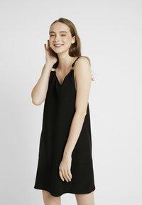 New Look - ELE RING PINNY - Jerseykjole - black - 0