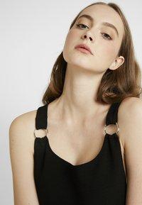 New Look - ELE RING PINNY - Jerseykjole - black - 6