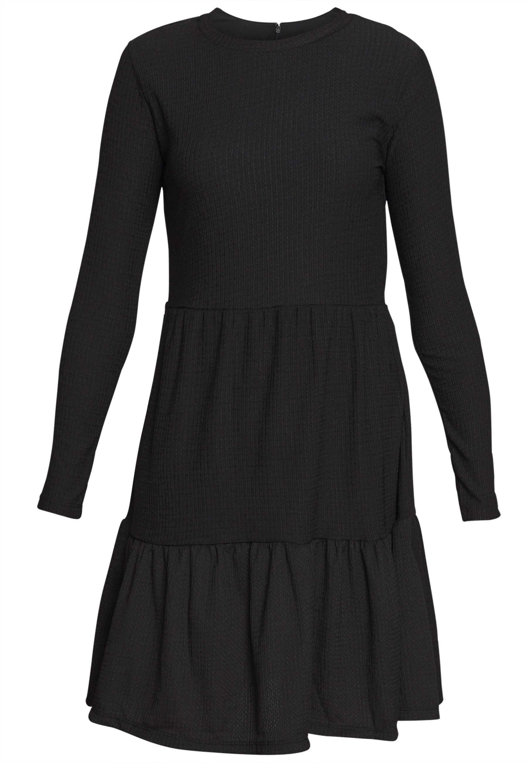 New Look CRINKLE SMOCK DRESS - Sukienka letnia - black