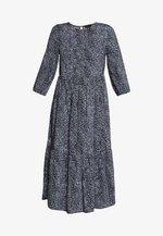 Day dress - blue pattern