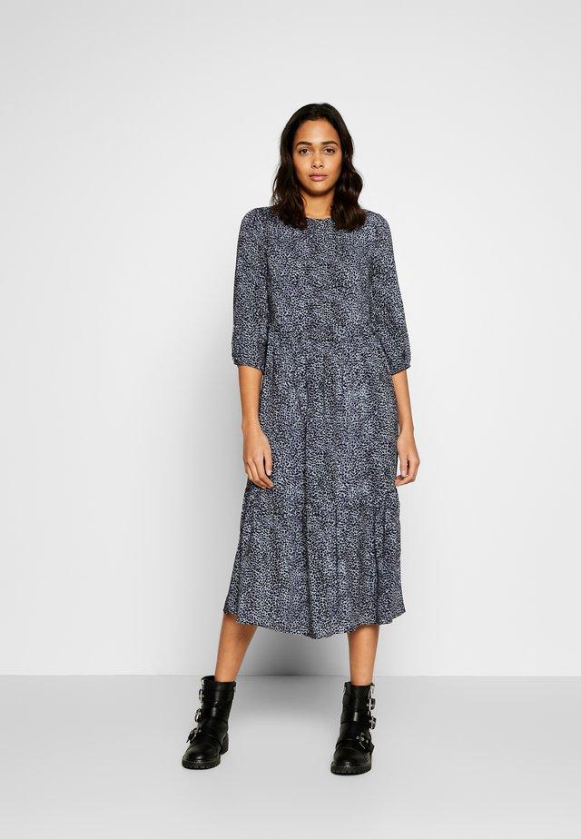 Korte jurk - blue pattern