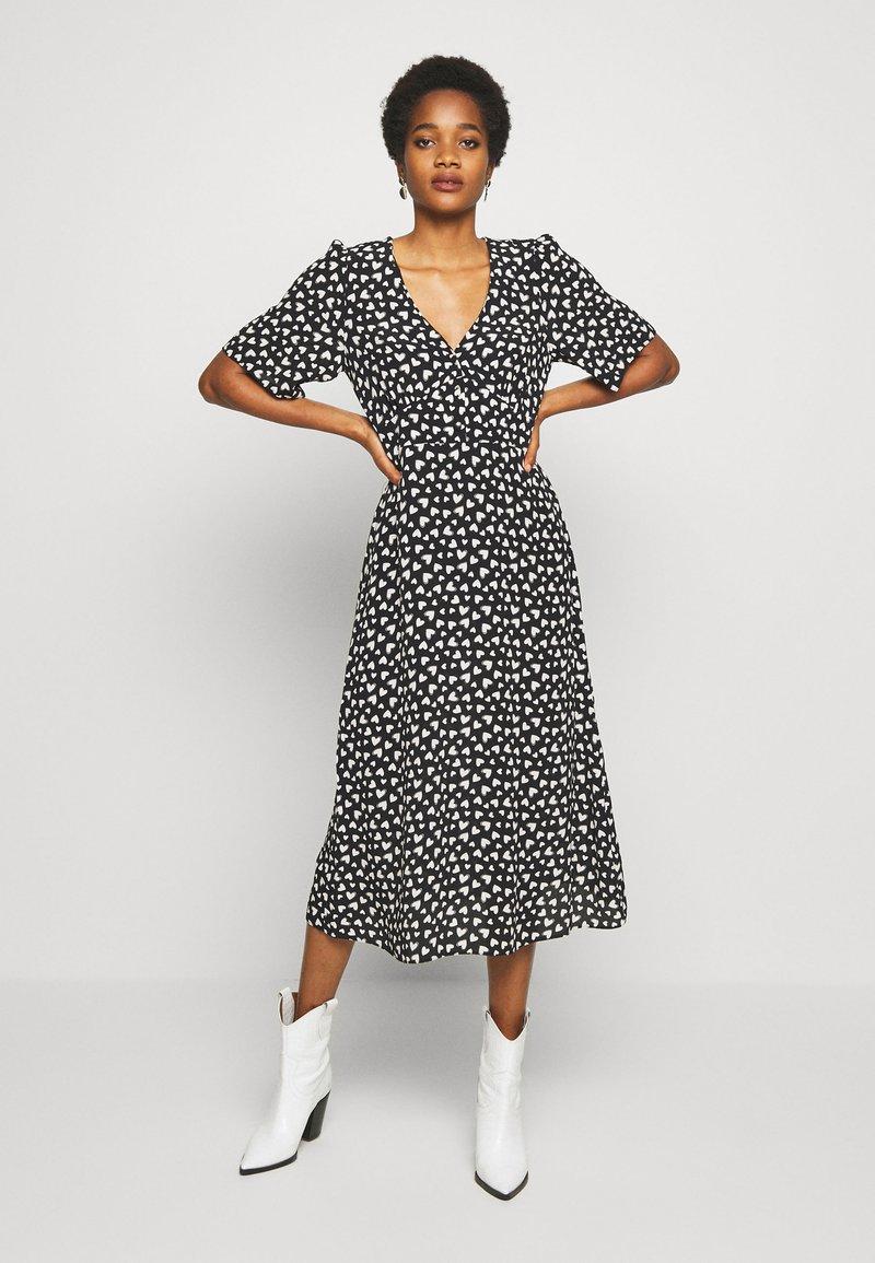 New Look - HEART - Day dress - black