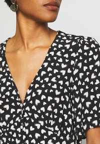 New Look - HEART - Day dress - black - 5