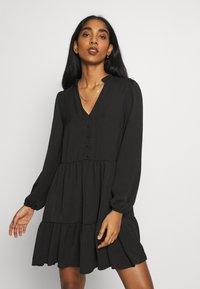 New Look - FRONT SMOCK - Sukienka letnia - black - 0