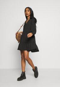 New Look - FRONT SMOCK - Sukienka letnia - black - 1