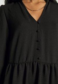 New Look - FRONT SMOCK - Sukienka letnia - black - 5