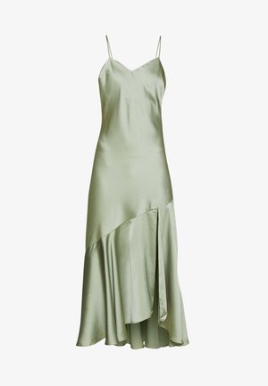 TRUMPET MIDI DRESS - Cocktailkjole - light green
