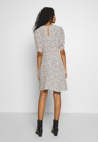New Look - SPOT PUFF TEA DRESS - Day dress - white pattern - 2