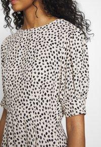 New Look - SPOT PUFF TEA DRESS - Day dress - white pattern - 5