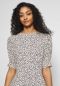 New Look - SPOT PUFF TEA DRESS - Day dress - white pattern - 3