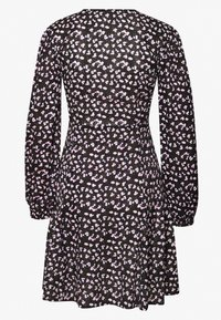 New Look - SPOT DITSY SEAM DETAIL MINI - Robe d'été - black - 1