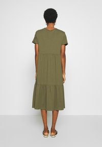 New Look - SMOCK MIDI - Day dress - dark khaki - 2