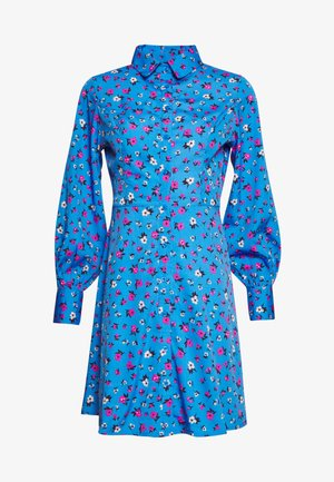 FLOWER  - Shirt dress - blue