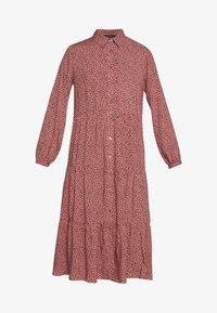 New Look - MAGGIE MAE TIER MIDI SHIRT DRESS - Skjortekjole - pink - 4