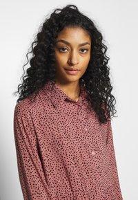 New Look - MAGGIE MAE TIER MIDI SHIRT DRESS - Skjortekjole - pink - 3