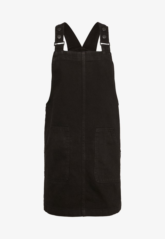DONNA PINNY - Denim dress - black