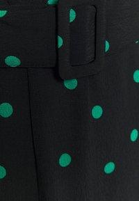 New Look - SPOT BELTED MIDI - Denní šaty - black - 2