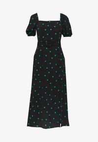 New Look - SPOT BELTED MIDI - Denní šaty - black - 0
