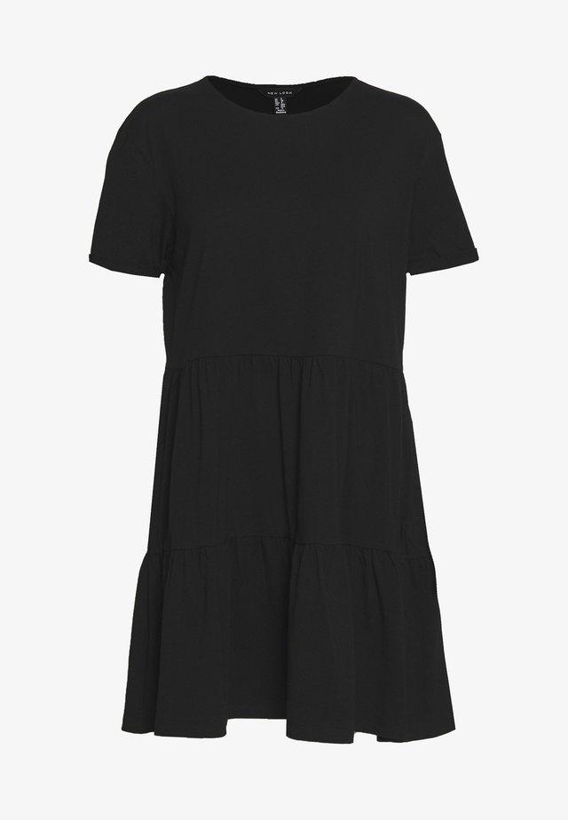 SMOCK MINI - Sukienka letnia - black