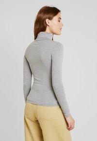 New Look - ROLL NECK - Top sdlouhým rukávem - grey - 2