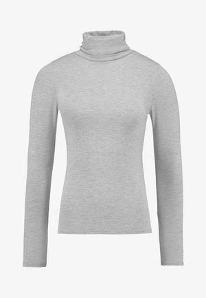 ROLL NECK - Camiseta de manga larga - grey